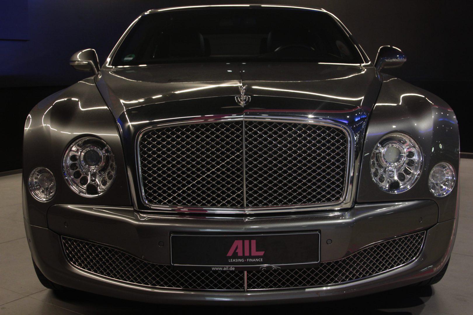 AIL Bentley Mulsanne Dark Stained BurrWalnut 6