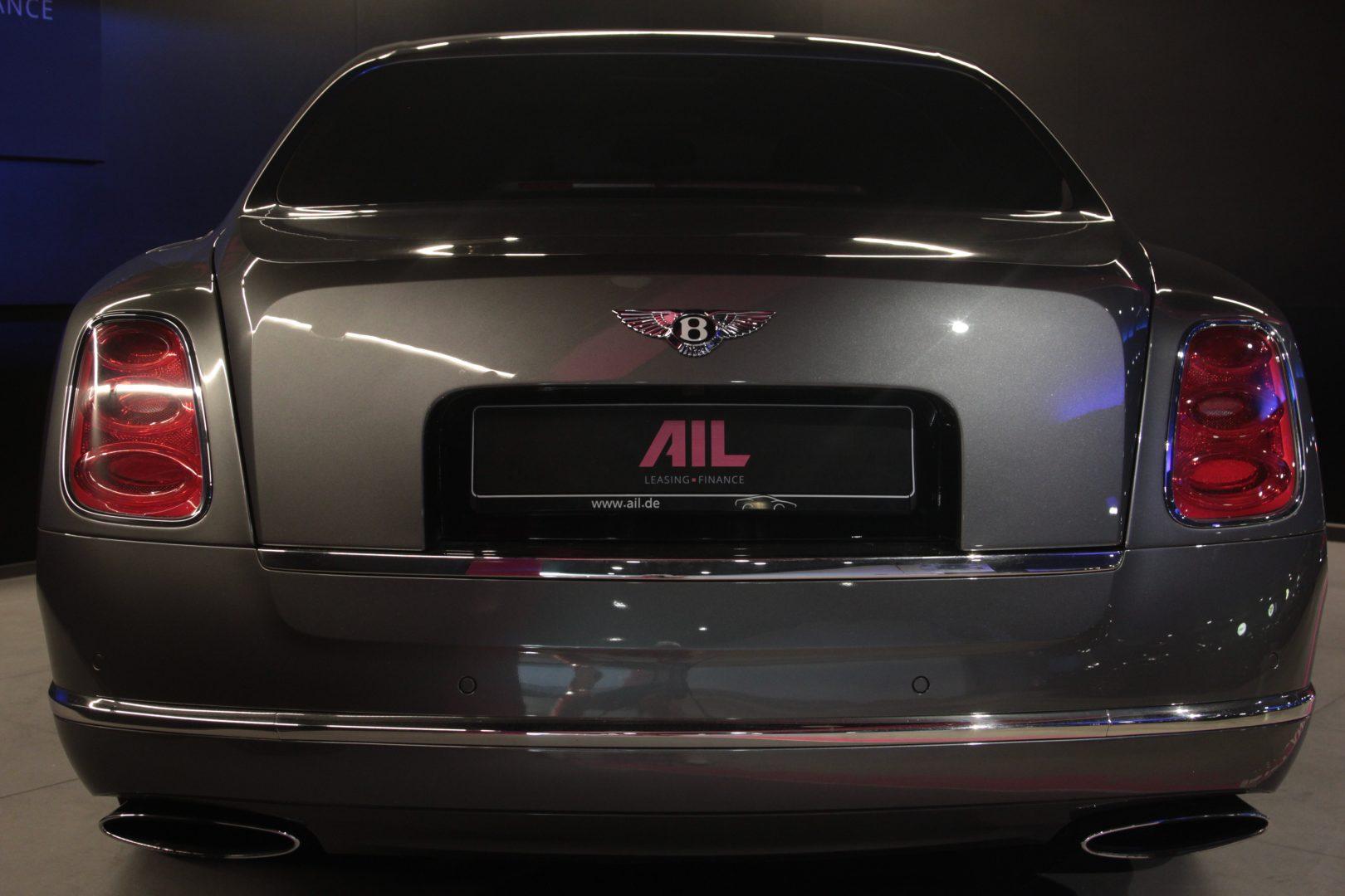 AIL Bentley Mulsanne Dark Stained BurrWalnut 3