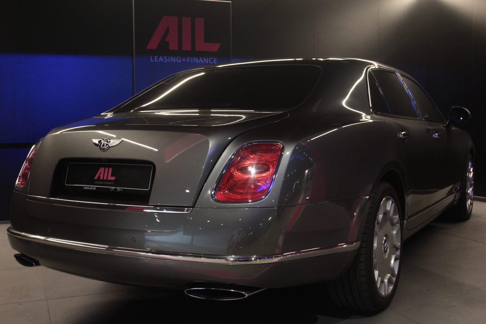 AIL Bentley Mulsanne Dark Stained BurrWalnut 1