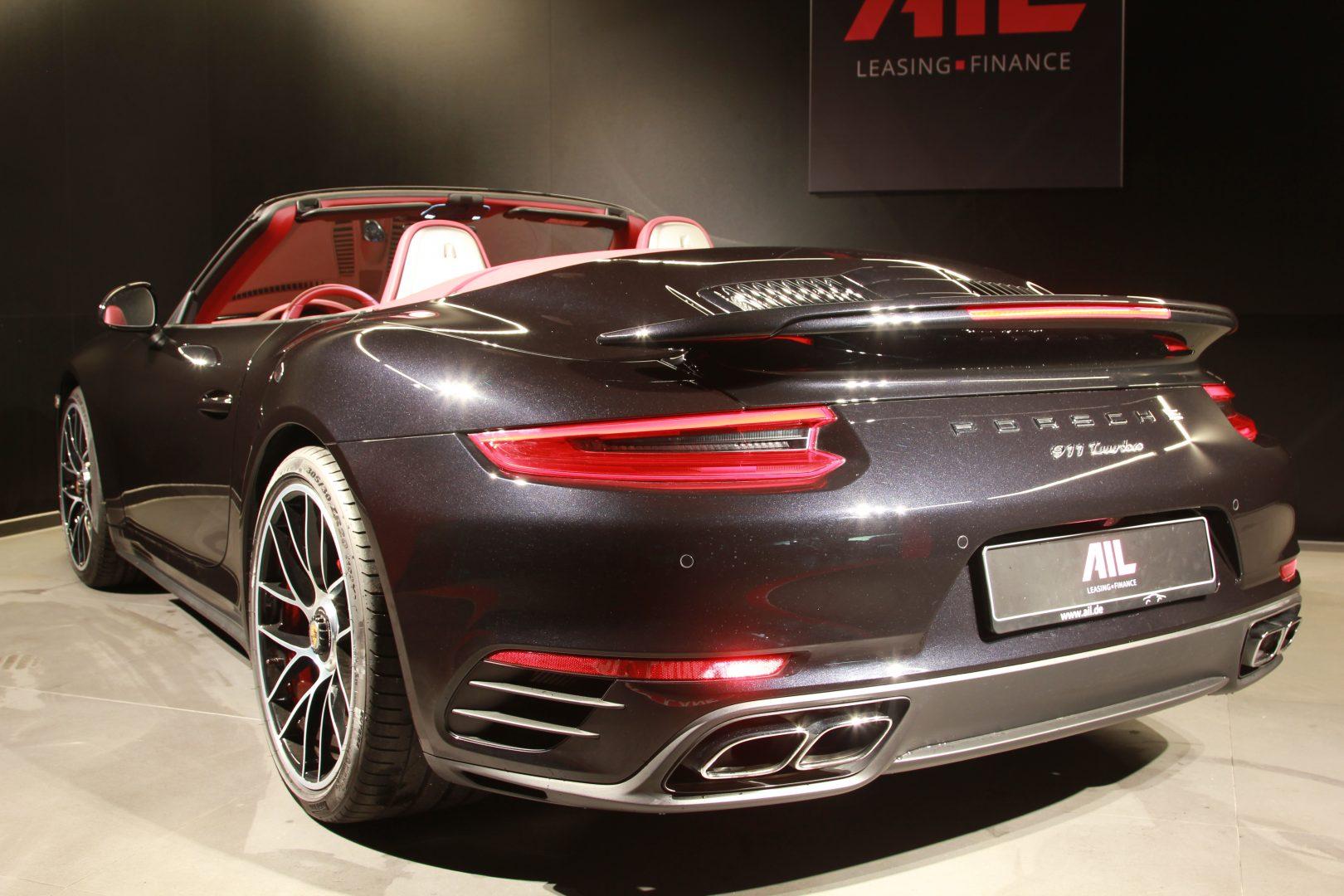 AIL Porsche 911 991 Turbo Cabrio LED Carbon Sitzbelüftung 7