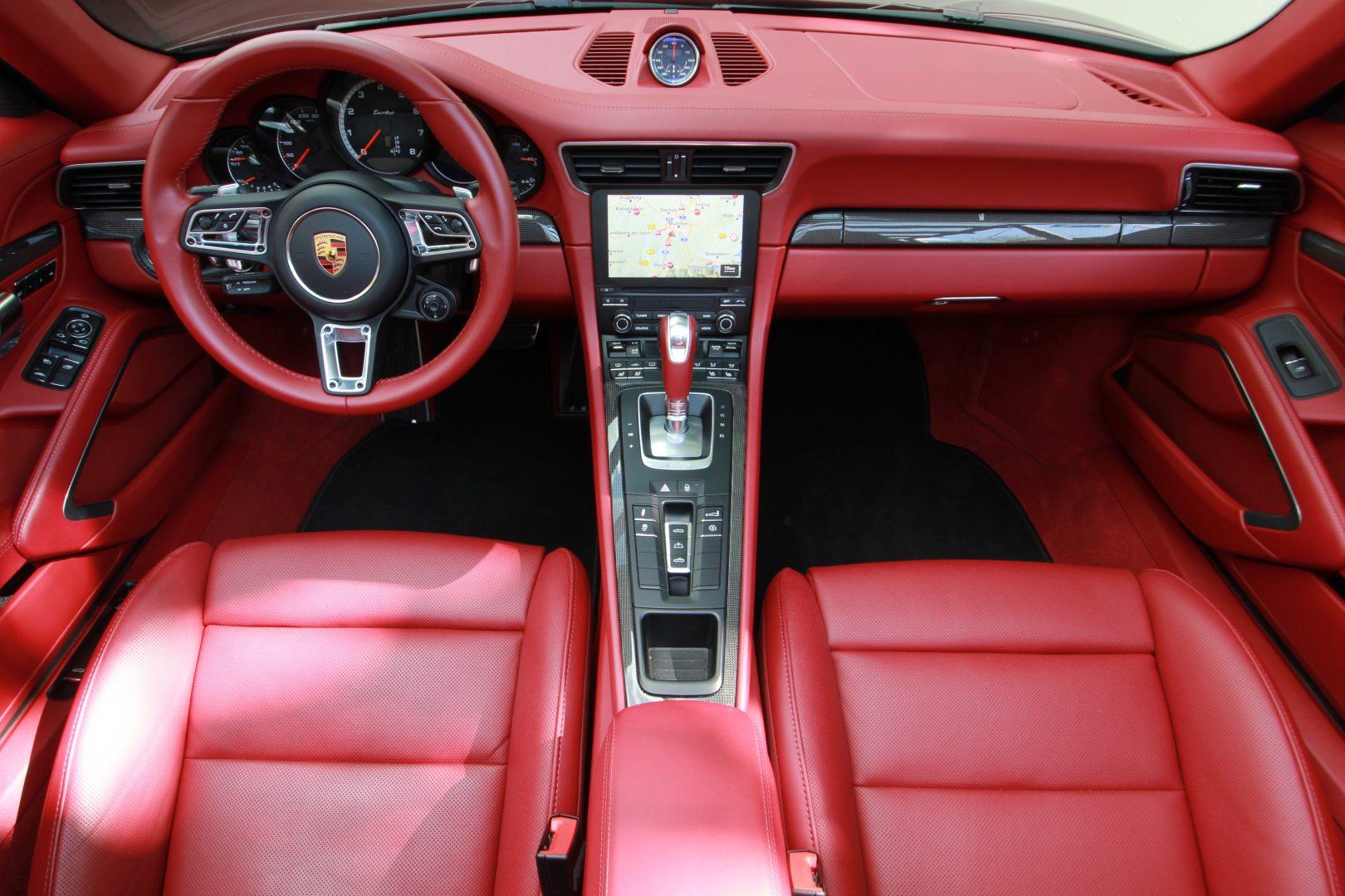 AIL Porsche 911 991 Turbo Cabrio LED Carbon Sitzbelüftung 4