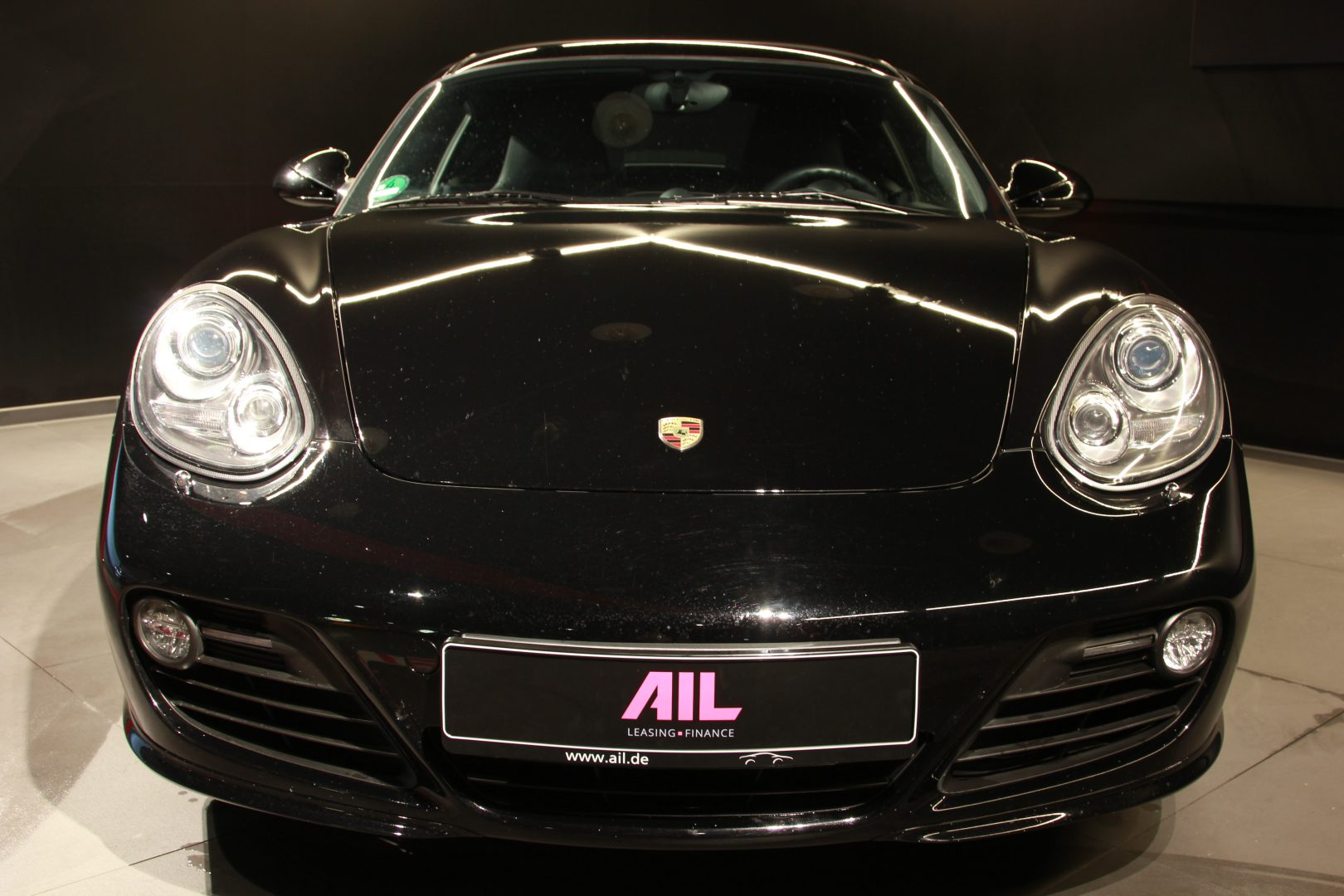 porsche cayman s black edition pdk sport chrono ail leasing m nchen ag. Black Bedroom Furniture Sets. Home Design Ideas