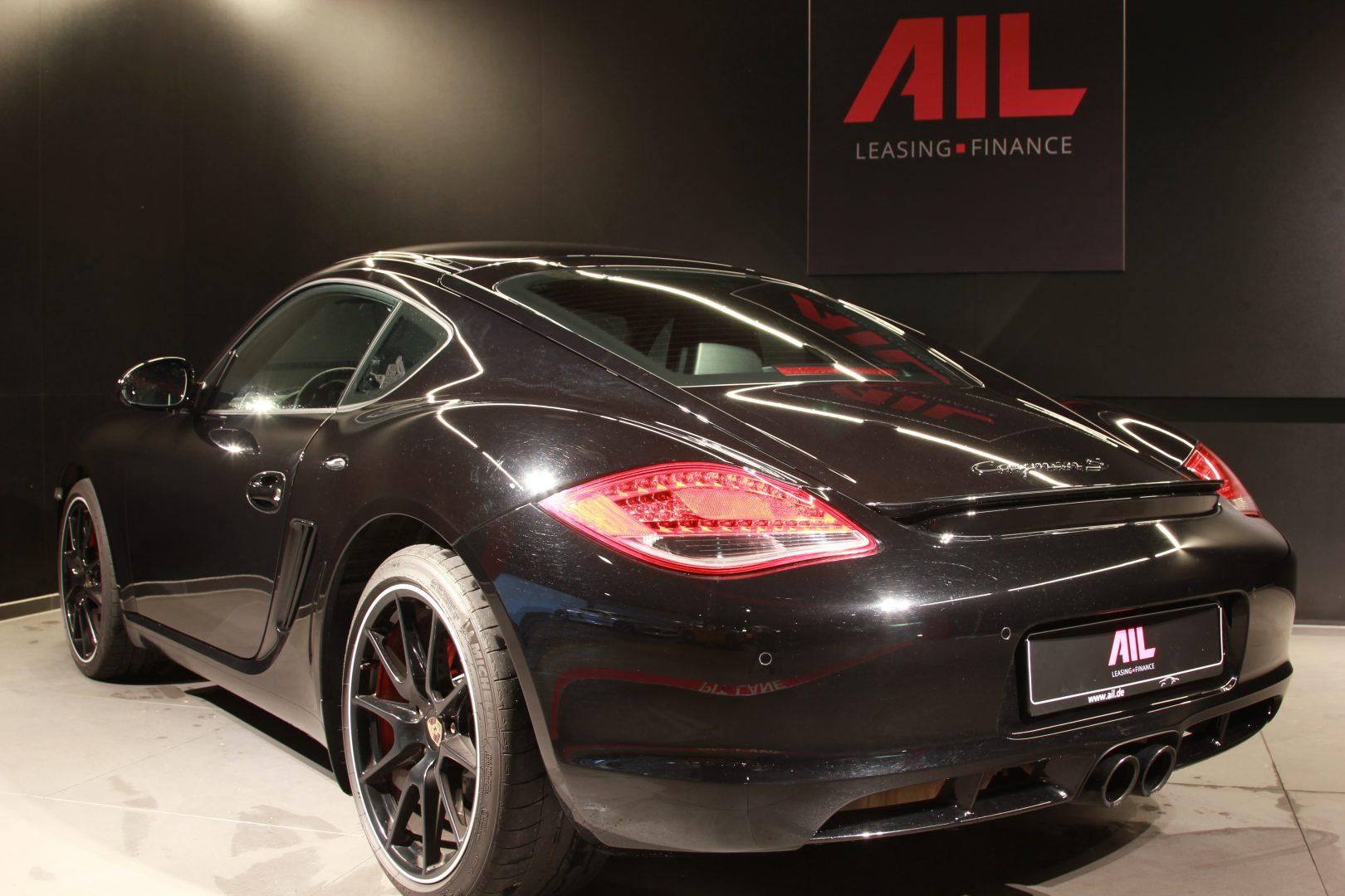 AIL Porsche Cayman S Black Edition PDK Sport Chrono 6