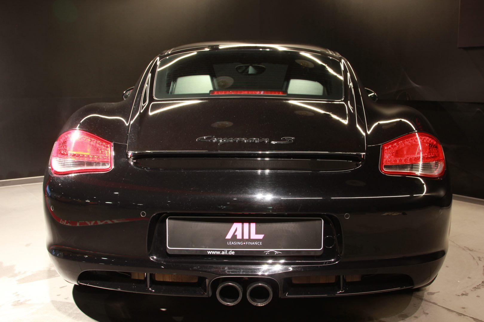 AIL Porsche Cayman S Black Edition PDK Sport Chrono 8