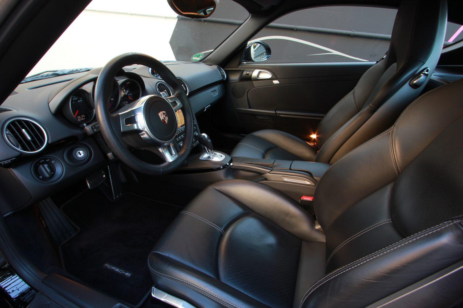 AIL Porsche Cayman S Black Edition PDK Sport Chrono 7