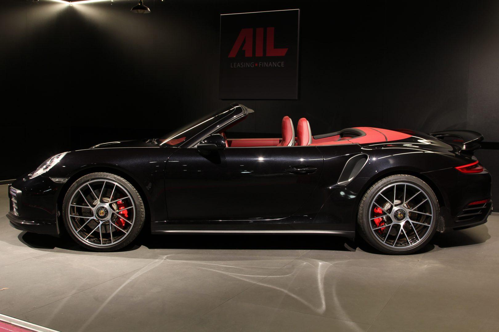AIL Porsche 911 991 Turbo Cabrio LED Carbon Sitzbelüftung 2