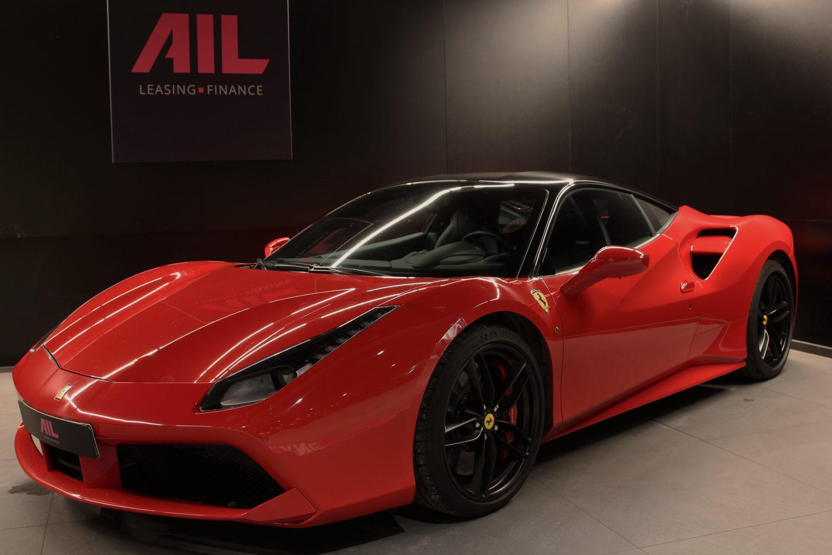 AIL Ferrari 488 GTB Rosso Corsa 12