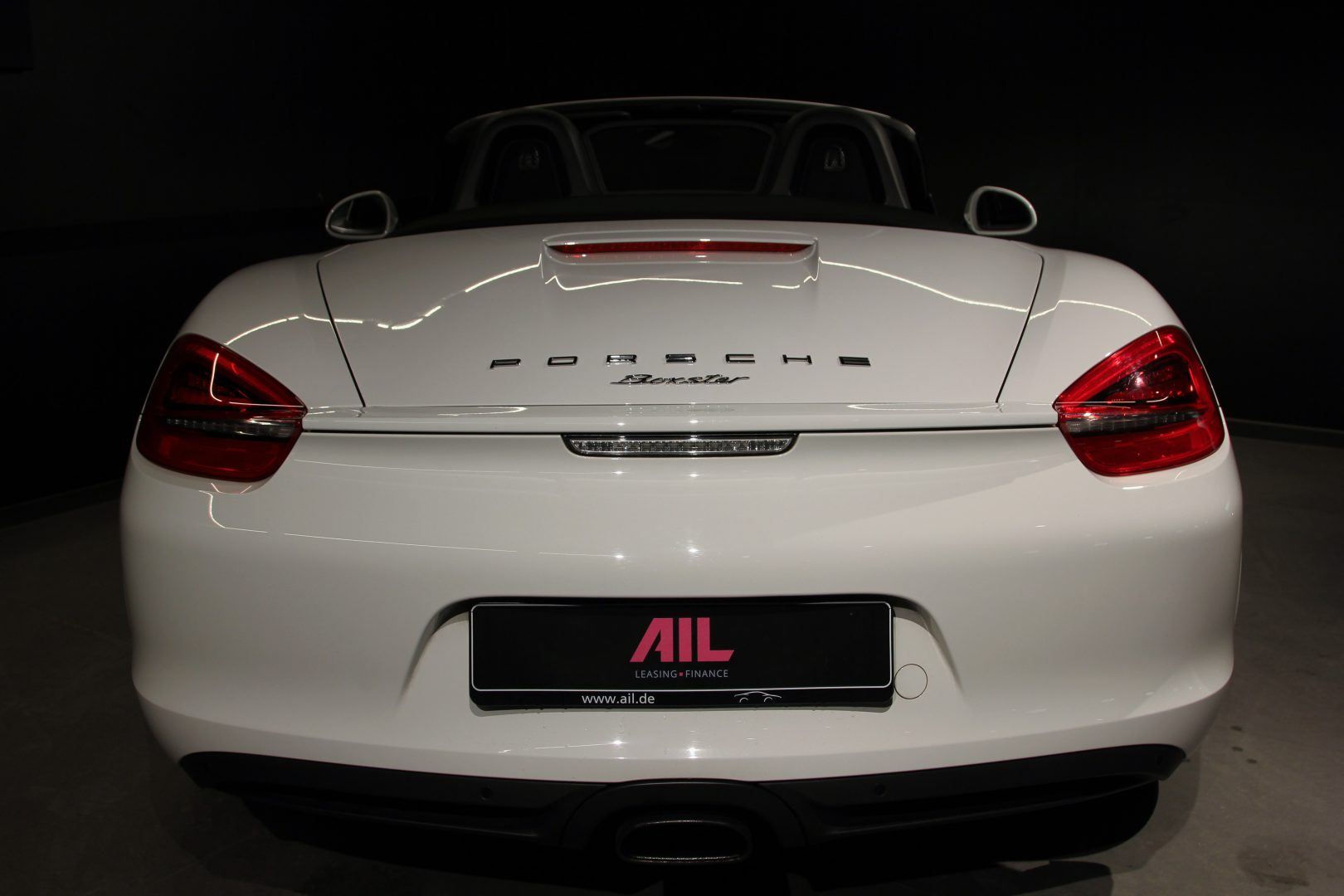 AIL Porsche Boxster PDK Sound-Package Plus 8