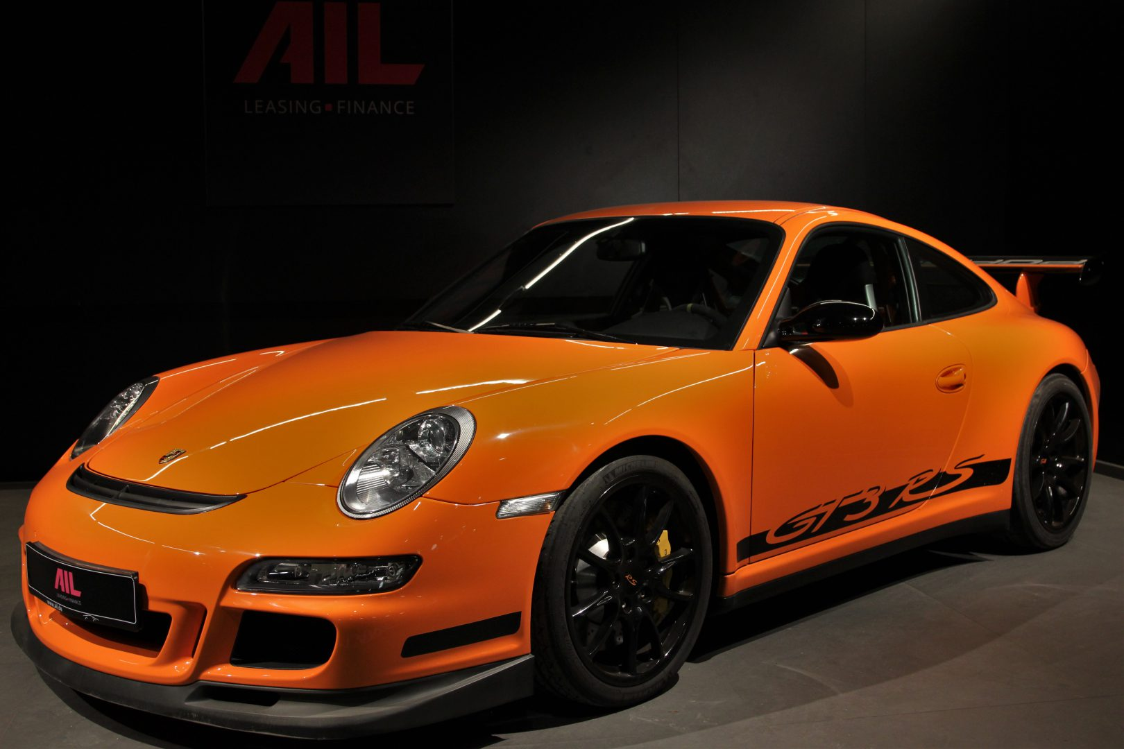 AIL Porsche 997 GT3 RS Club Sport Paket Orange 13