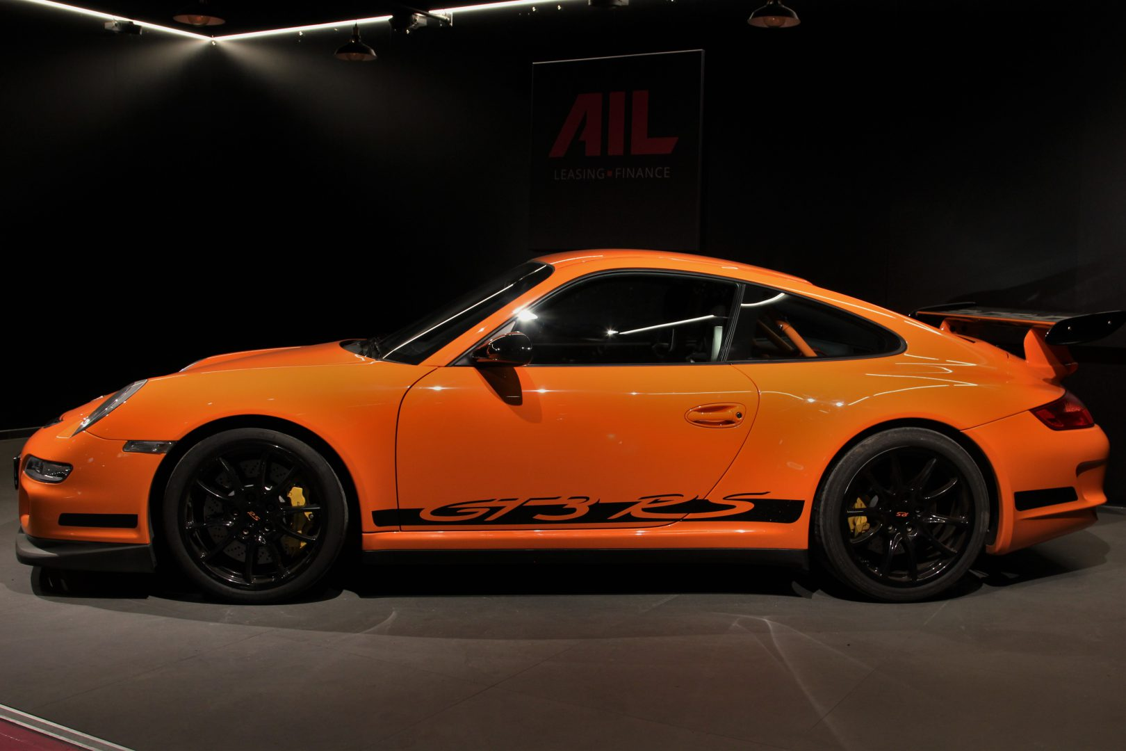 AIL Porsche 997 GT3 RS Club Sport Paket Orange 3