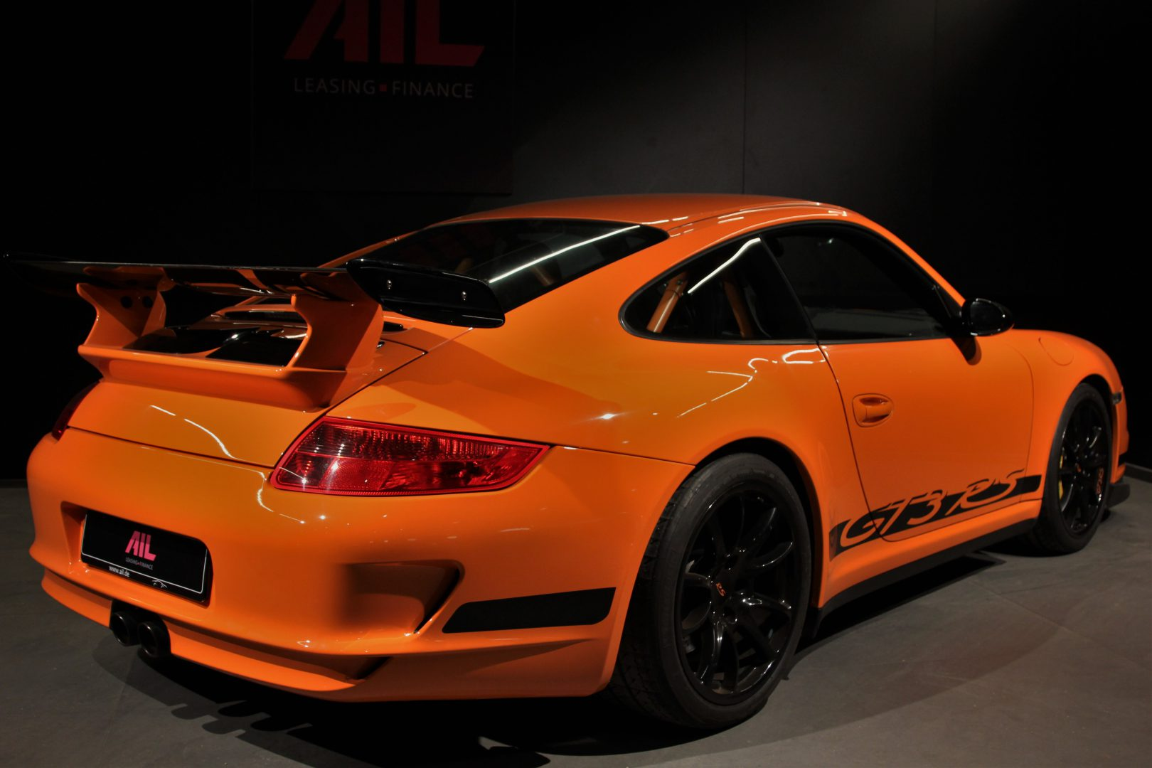 AIL Porsche 997 GT3 RS Club Sport Paket Orange 1