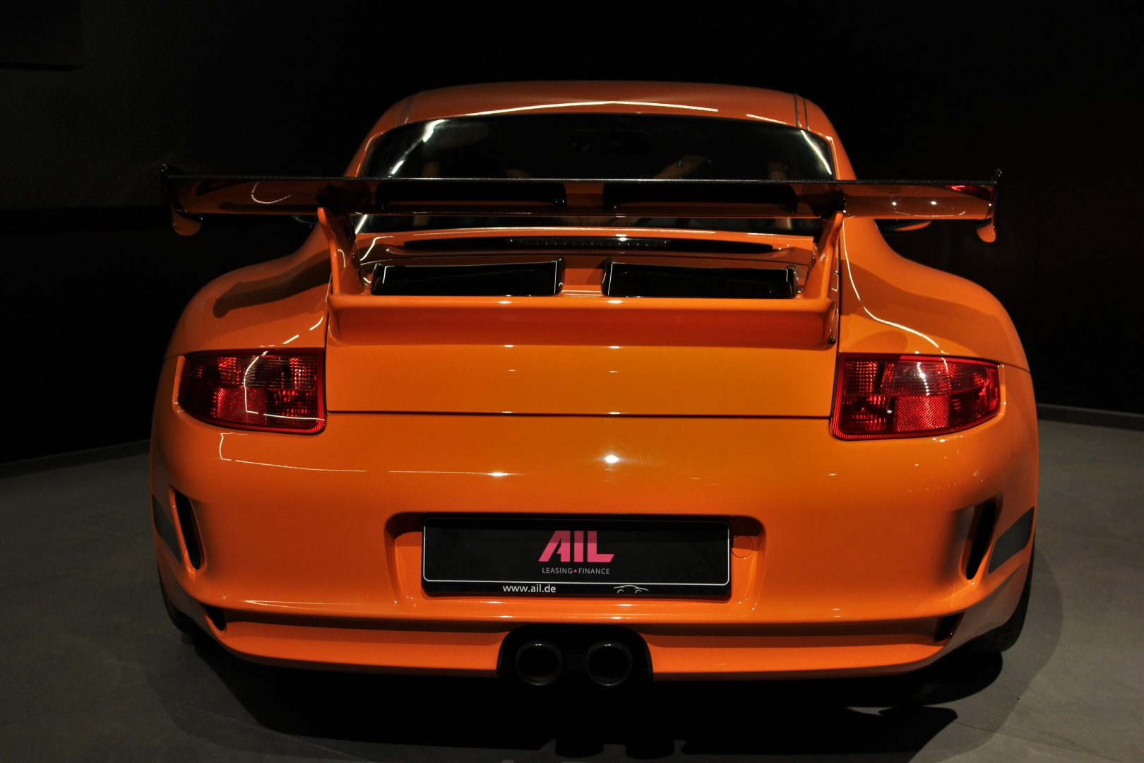 AIL Porsche 997 GT3 RS Club Sport Paket Orange 7