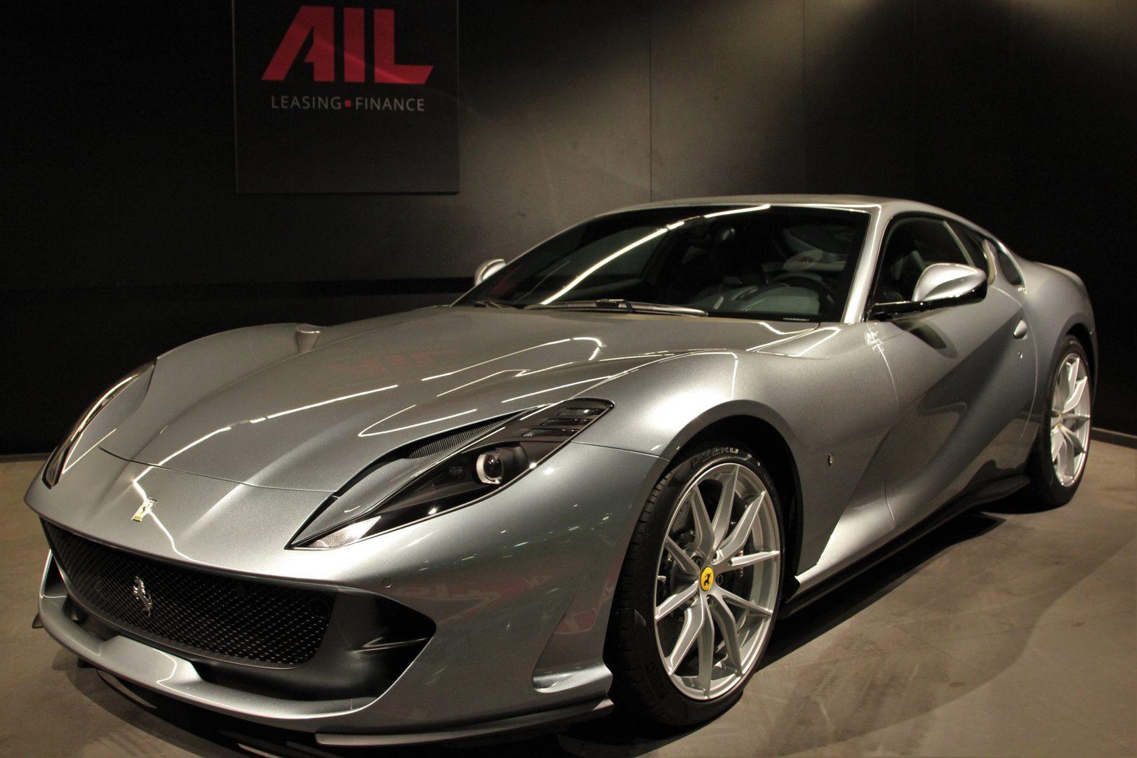 AIL Ferrari 812 Superfast Titane Grigio  14