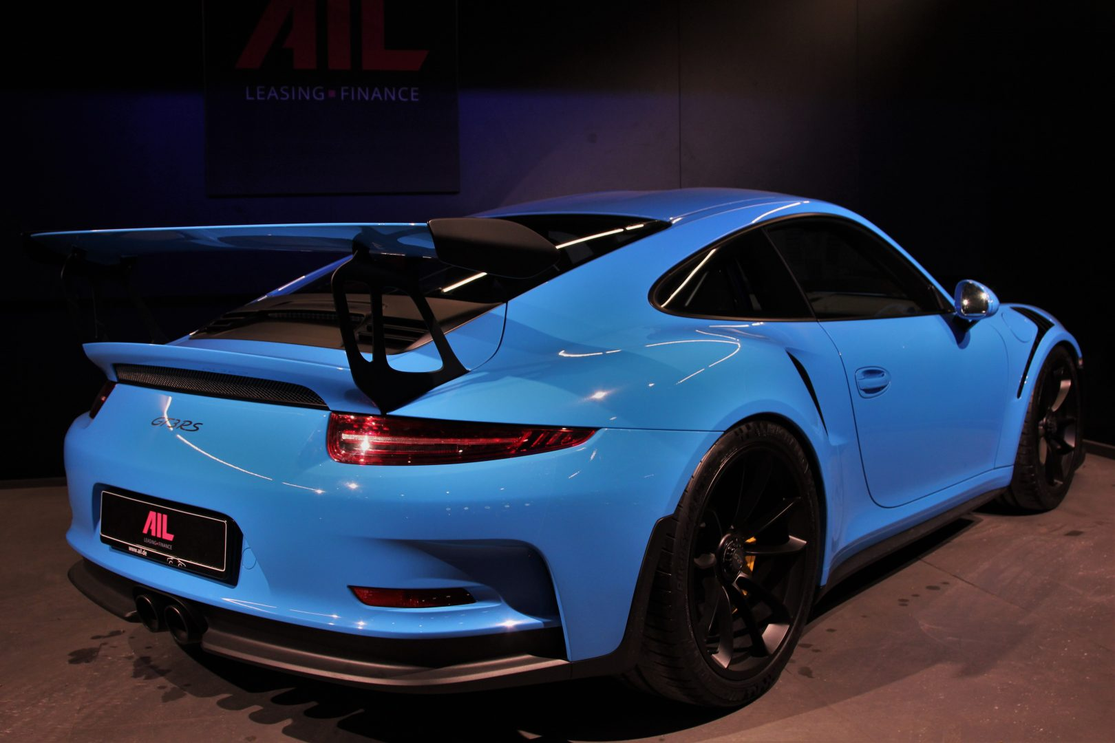 AIL Porsche 911 991 GT3 RS Clubsport Paket LIFT  1