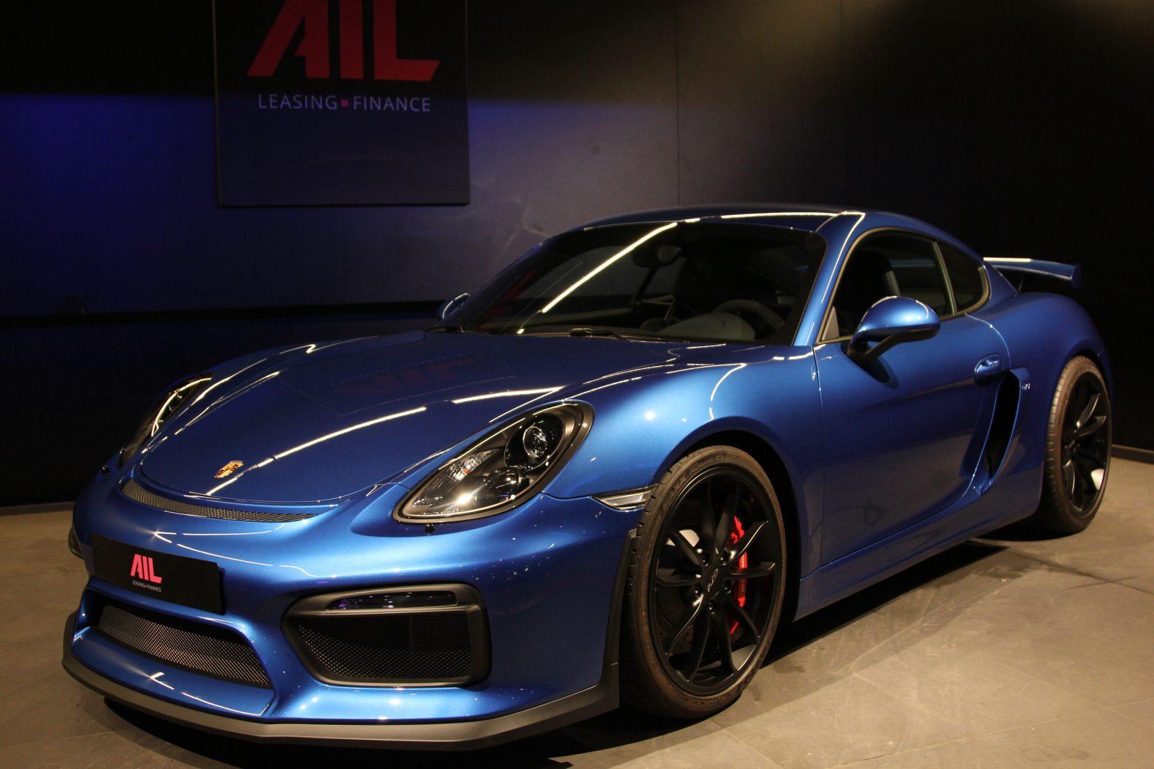 AIL Porsche Cayman GT4 Sound-Package Plus 13
