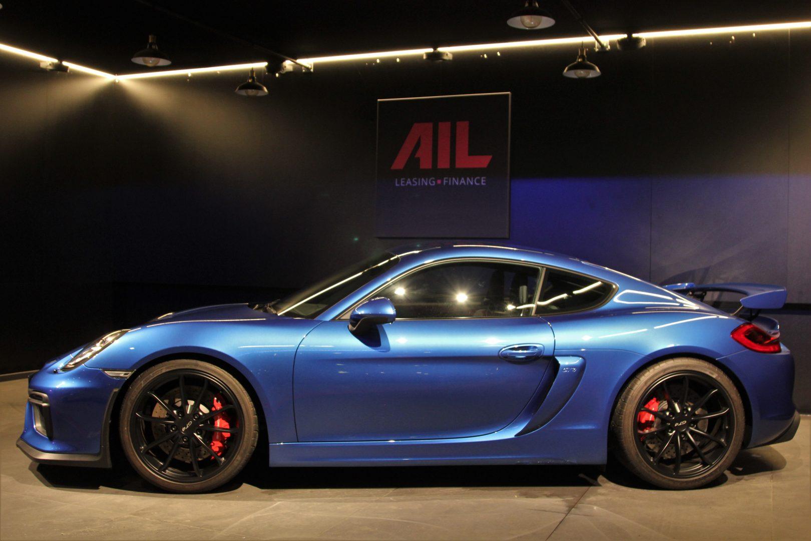 AIL Porsche Cayman GT4 Sound-Package Plus 3