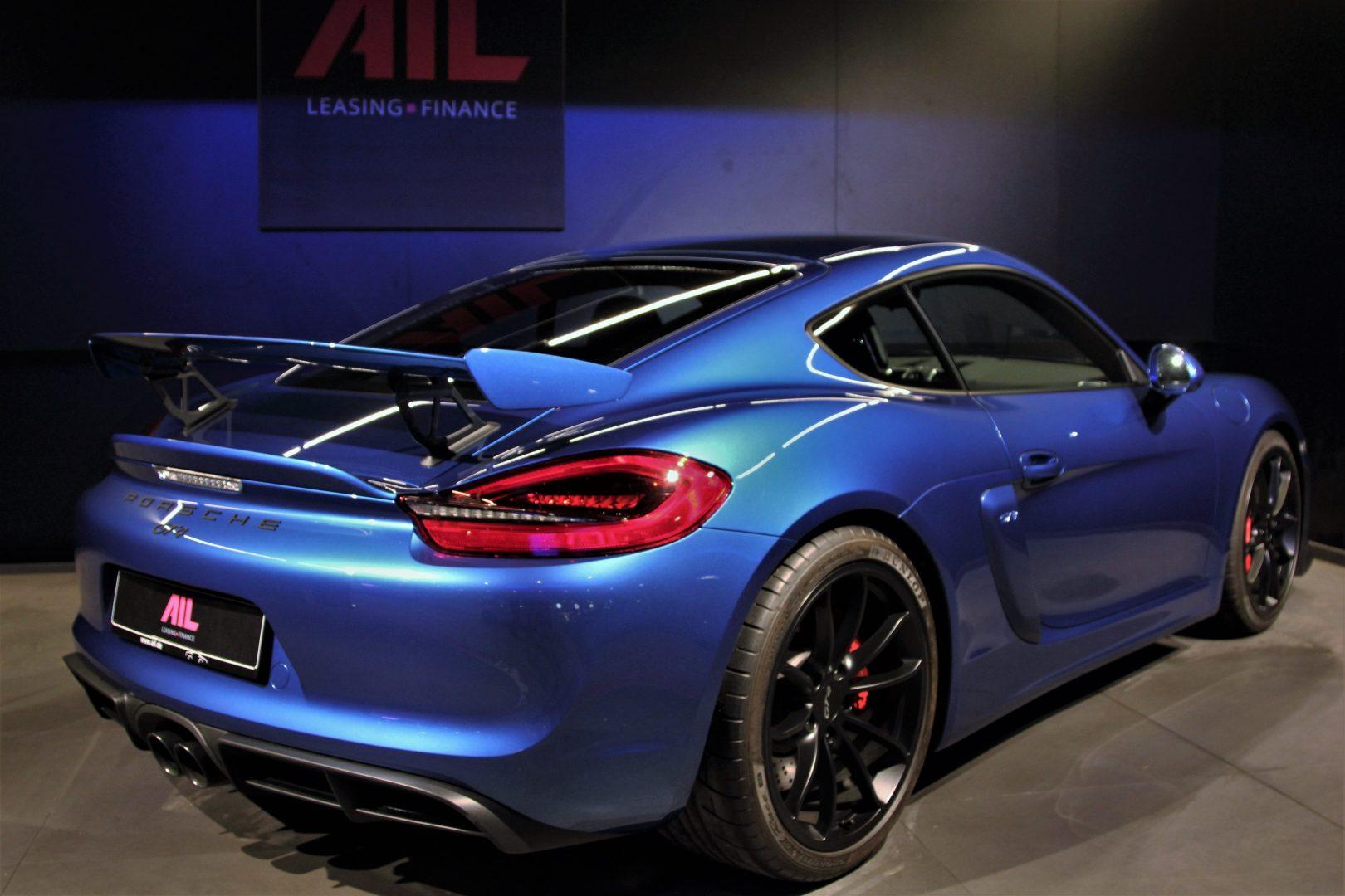 AIL Porsche Cayman GT4 Sound-Package Plus 9