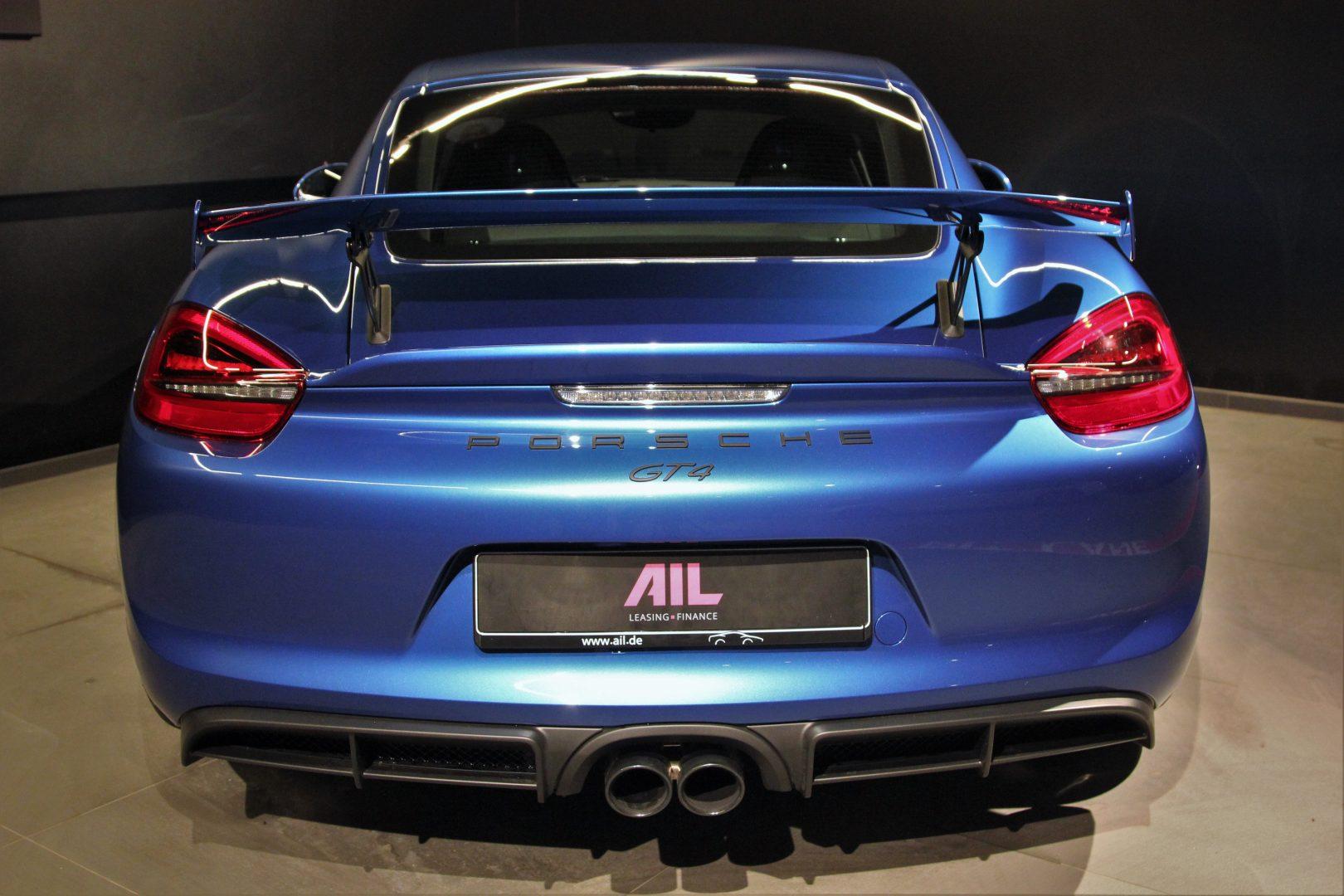 AIL Porsche Cayman GT4 Sound-Package Plus 12