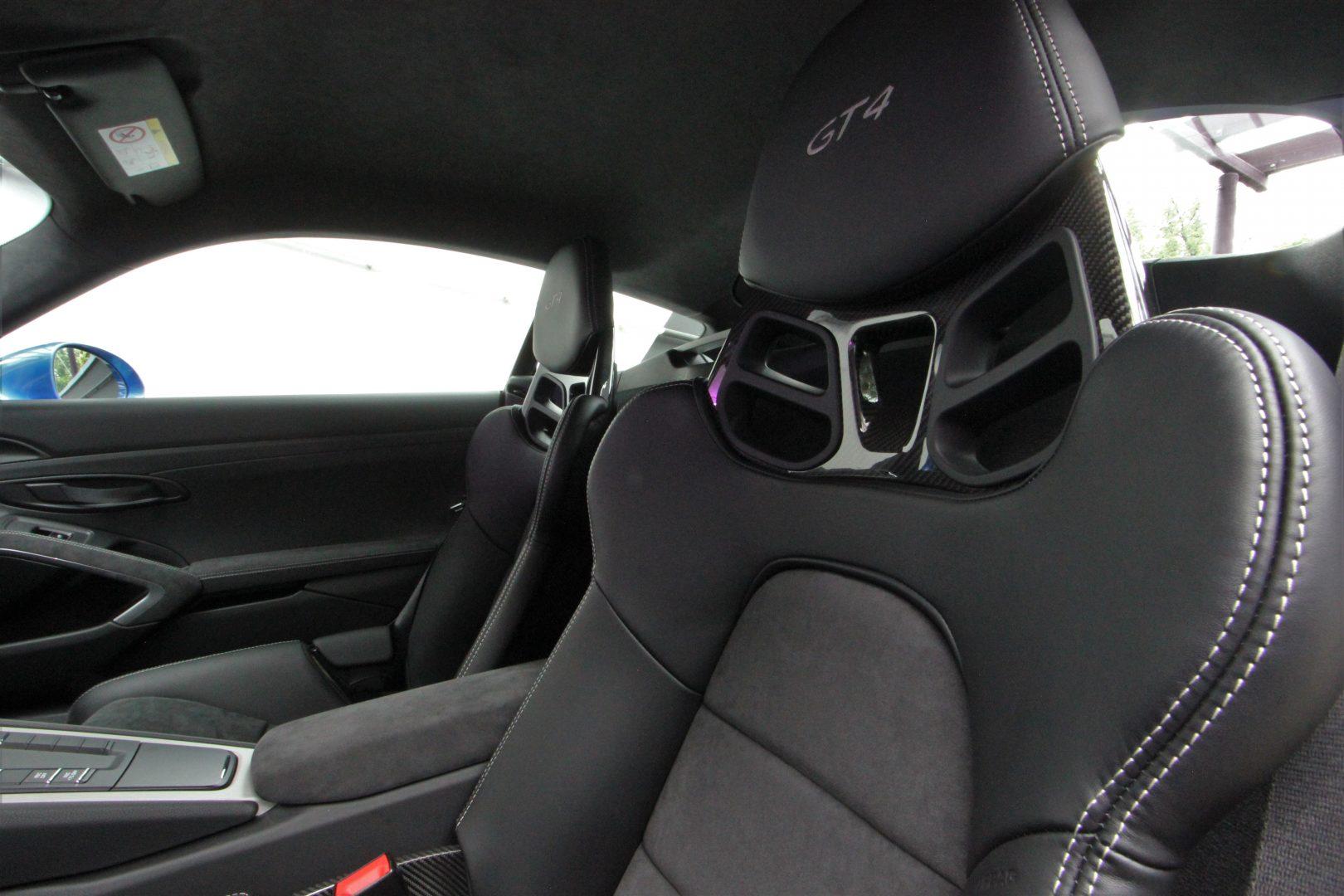 AIL Porsche Cayman GT4 Sound-Package Plus 10