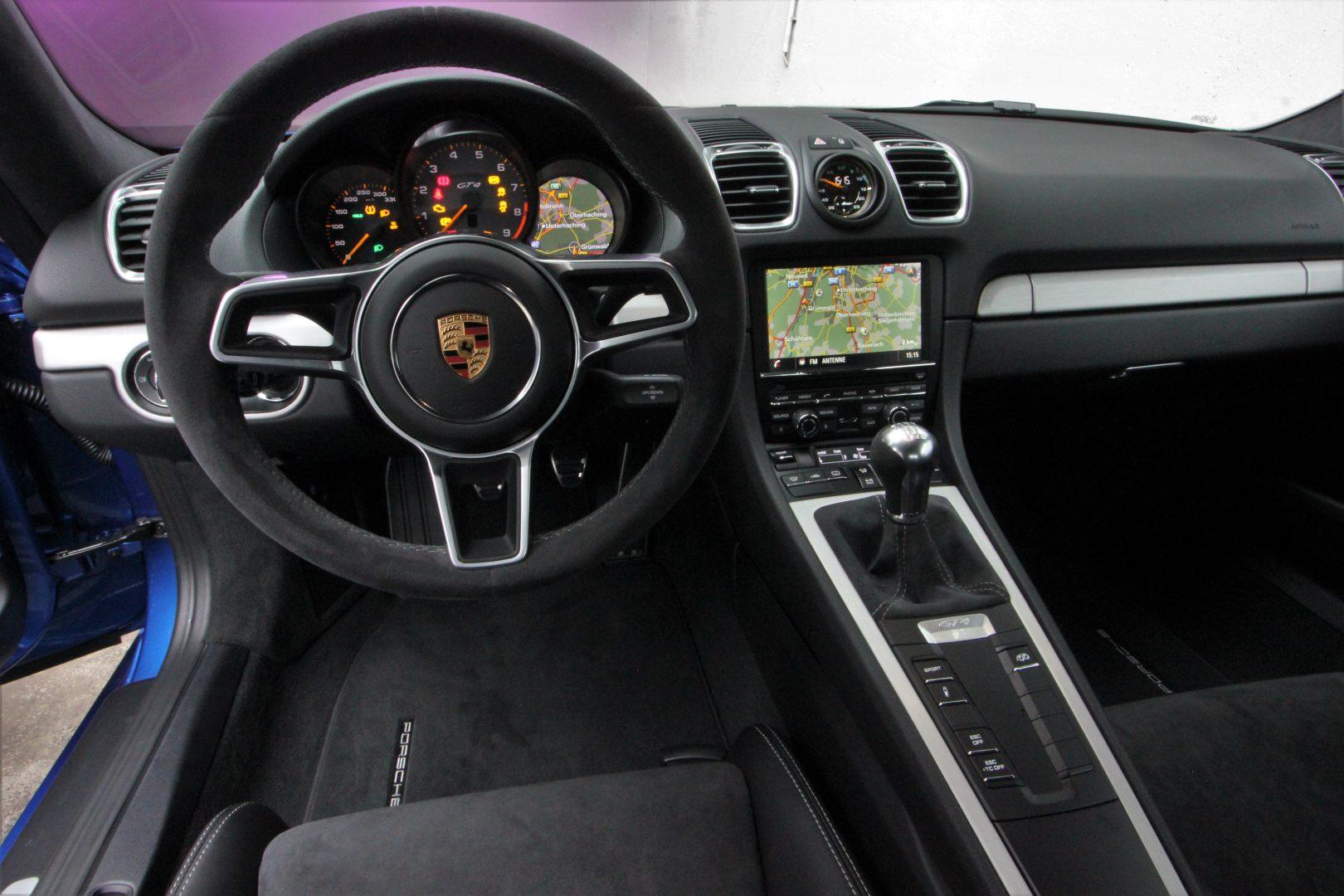 AIL Porsche Cayman GT4 Sound-Package Plus 4