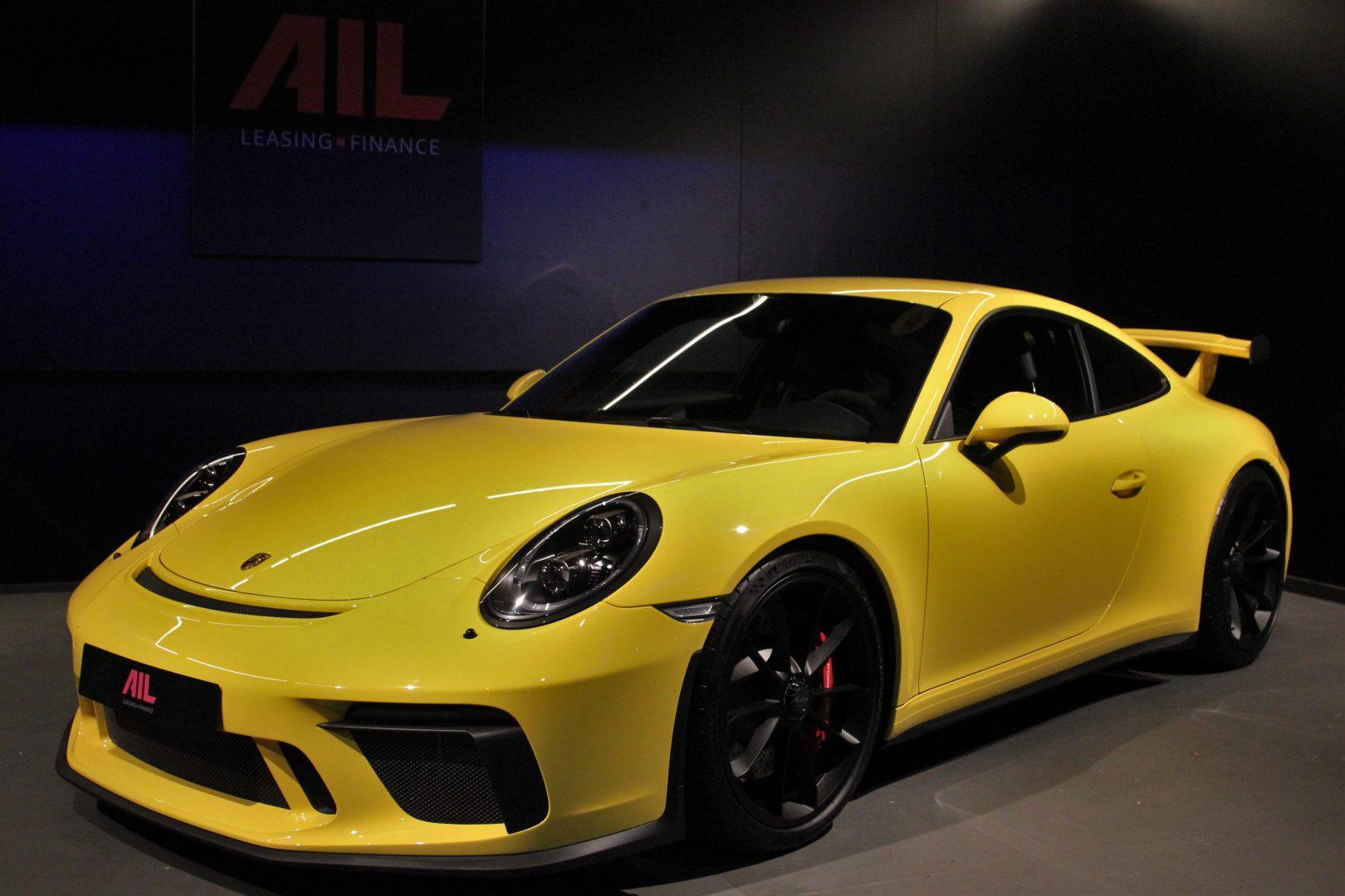 AIL Porsche 911 991 GT3 Clubsport-Paket LED Lift  13