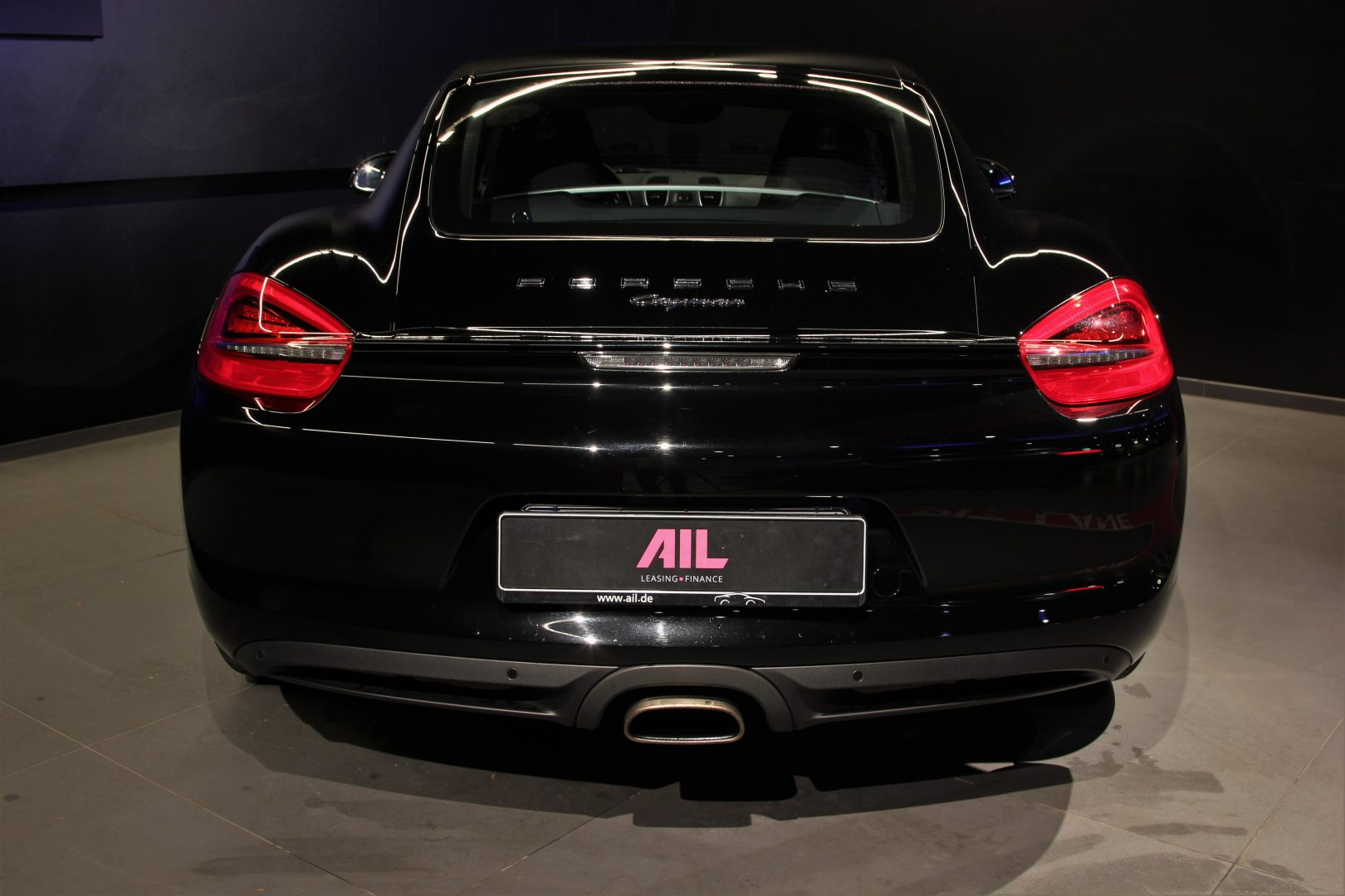 AIL Porsche Cayman Black Edition Approved Sound-Package-Plus 3