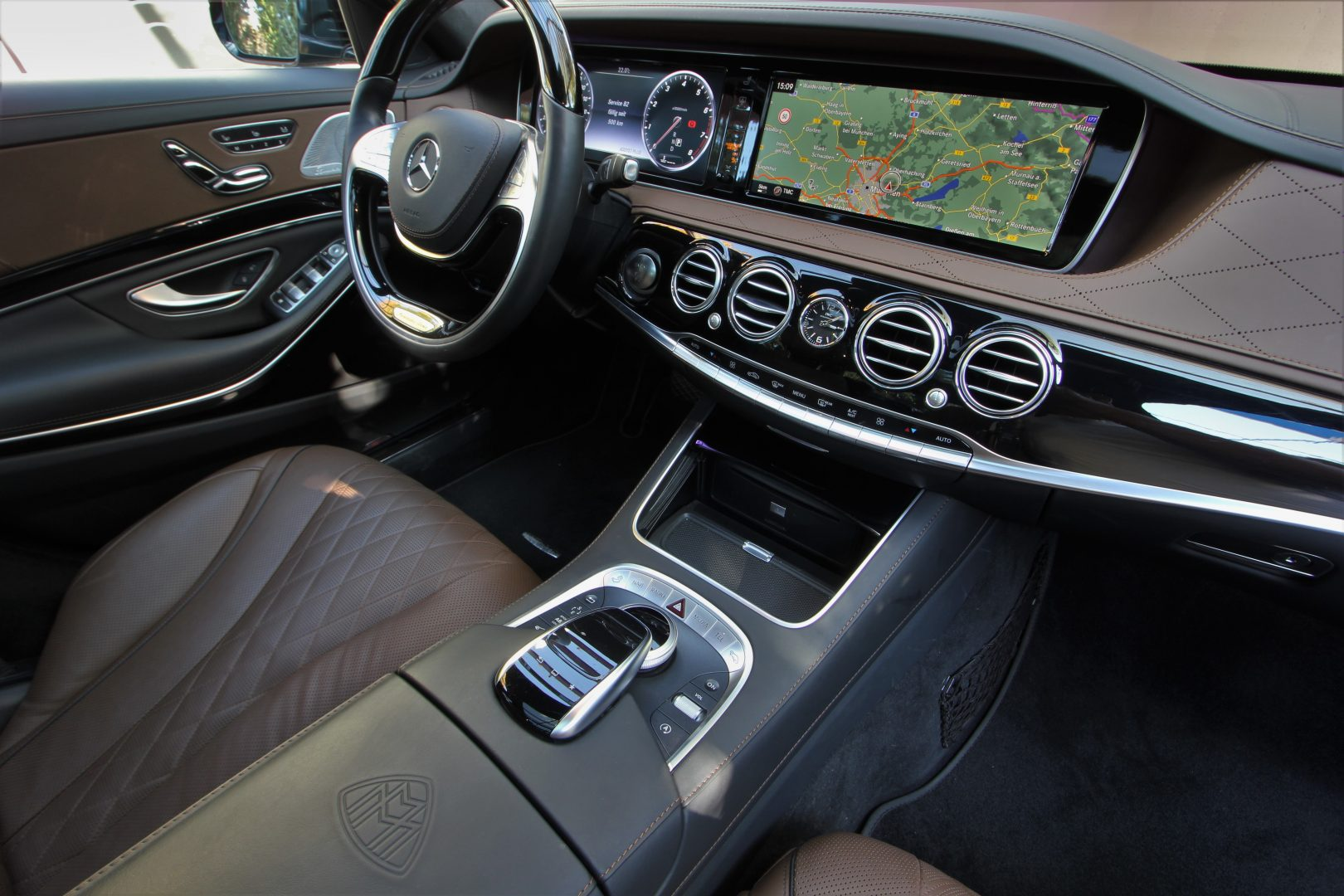 AIL Mercedes-Benz S 500 Maybach First-Class Fond RSE 9