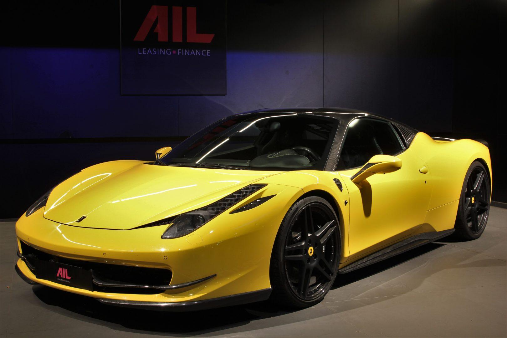 AIL Ferrari 458 Italia Novitec Lift 13