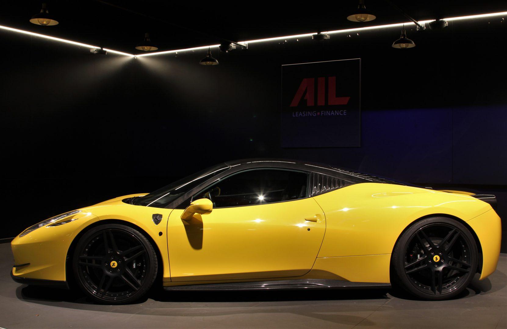 AIL Ferrari 458 Italia Novitec Lift 9