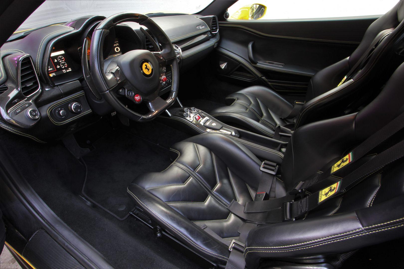 AIL Ferrari 458 Italia Novitec Lift 3