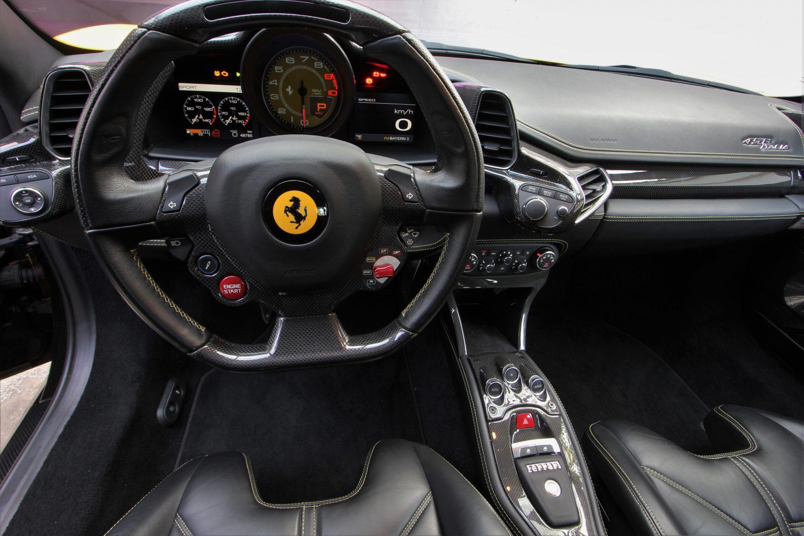 AIL Ferrari 458 Italia Novitec Lift 12