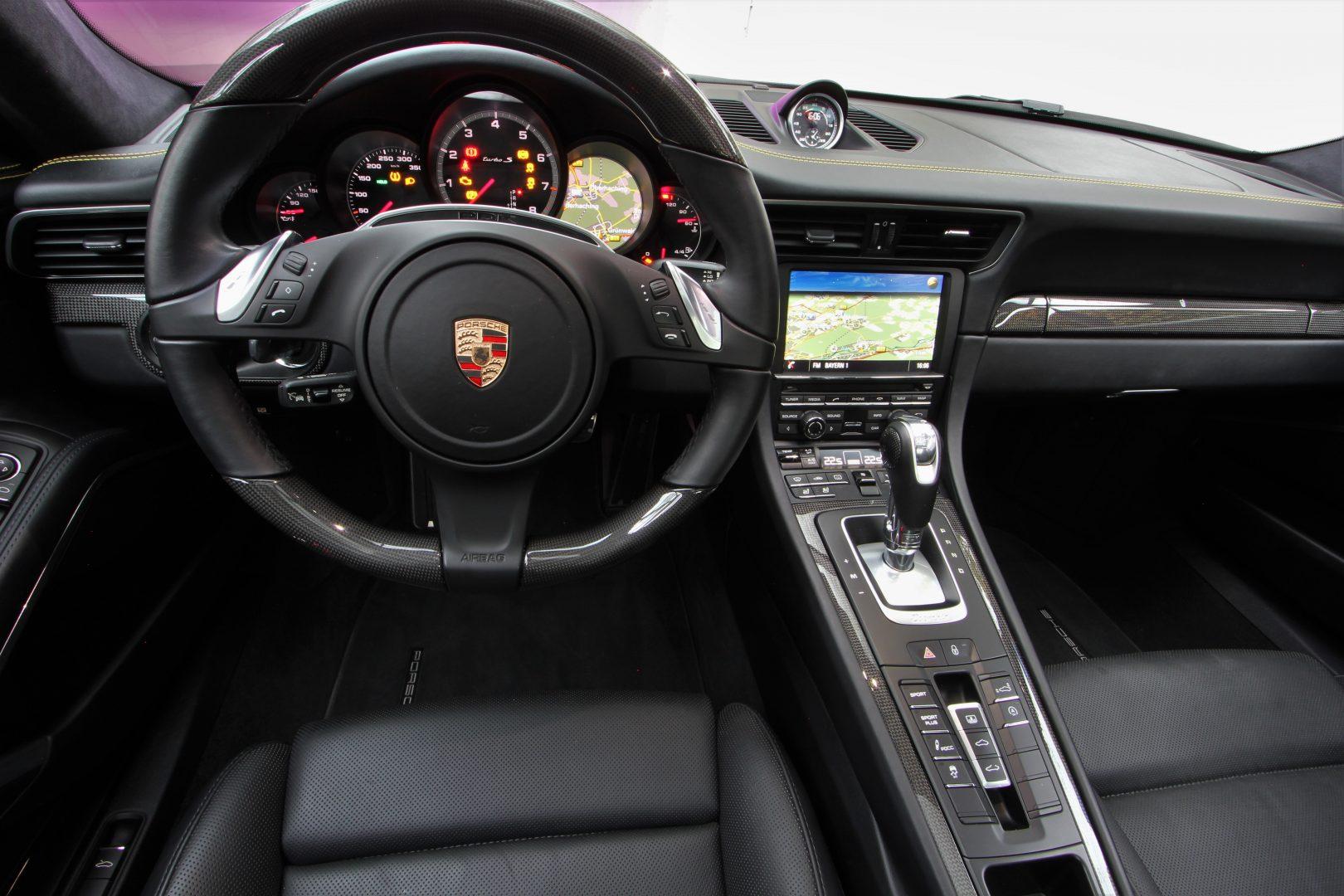 AIL Porsche 911 991 Turbo S Carbon Paket PCCB 6
