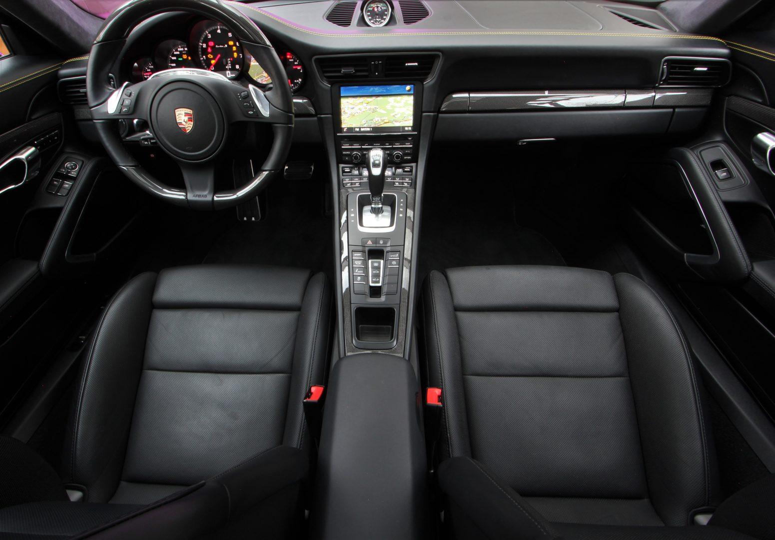 AIL Porsche 911 991 Turbo S Carbon Paket PCCB 8