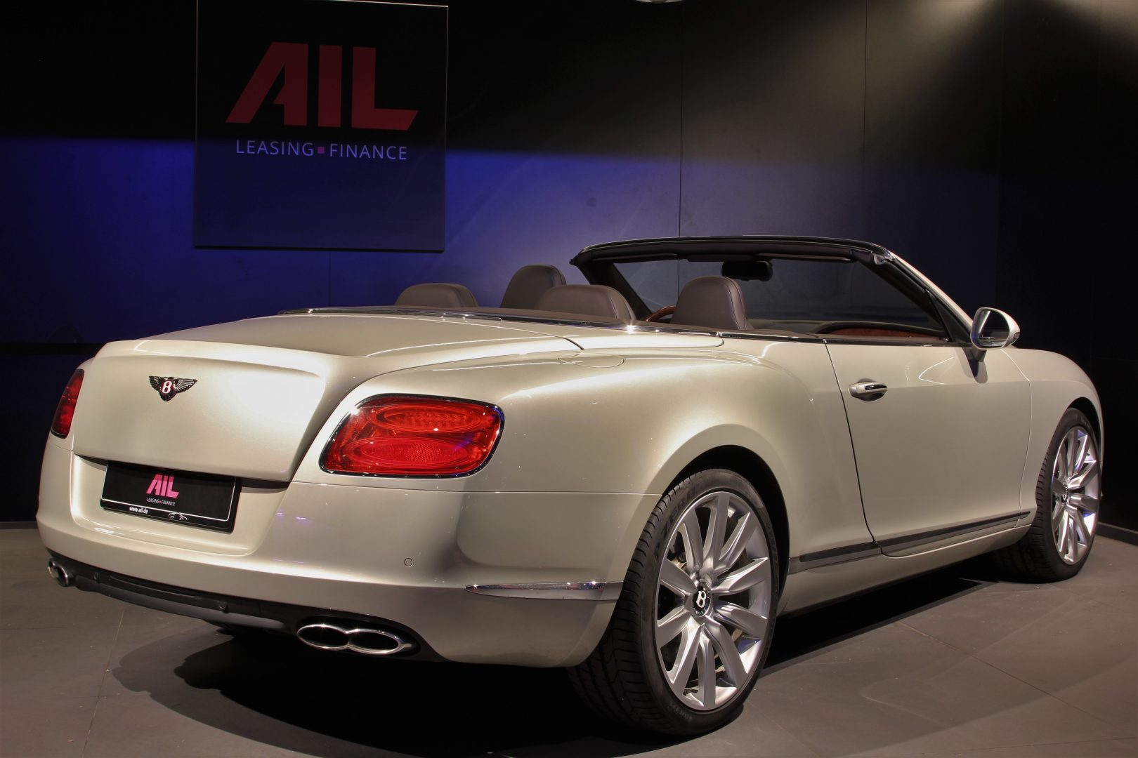 AIL Bentley Continental GTC V8 Mulliner  2