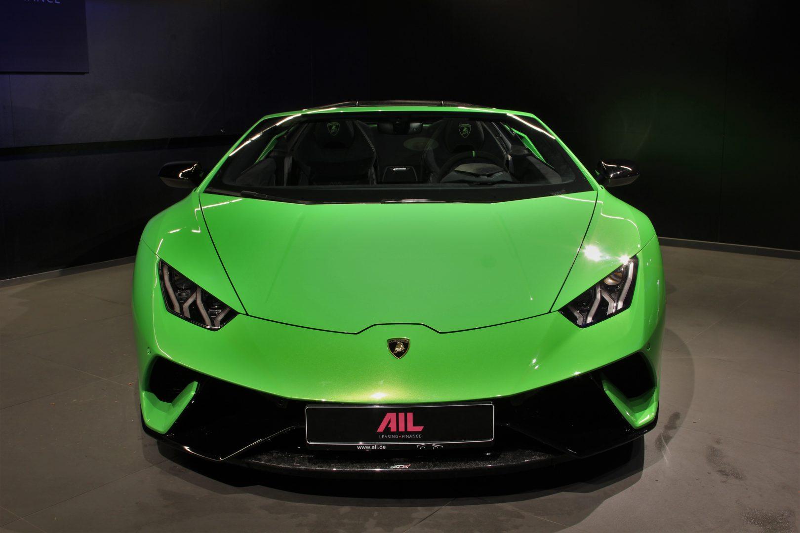 AIL Lamborghini Huracan Performante Spyder LP 640-4 Verda Mantis 13