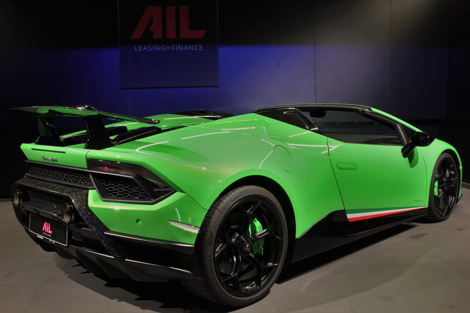 AIL Lamborghini Huracan Performante Spyder LP 640-4 Verda Mantis 3