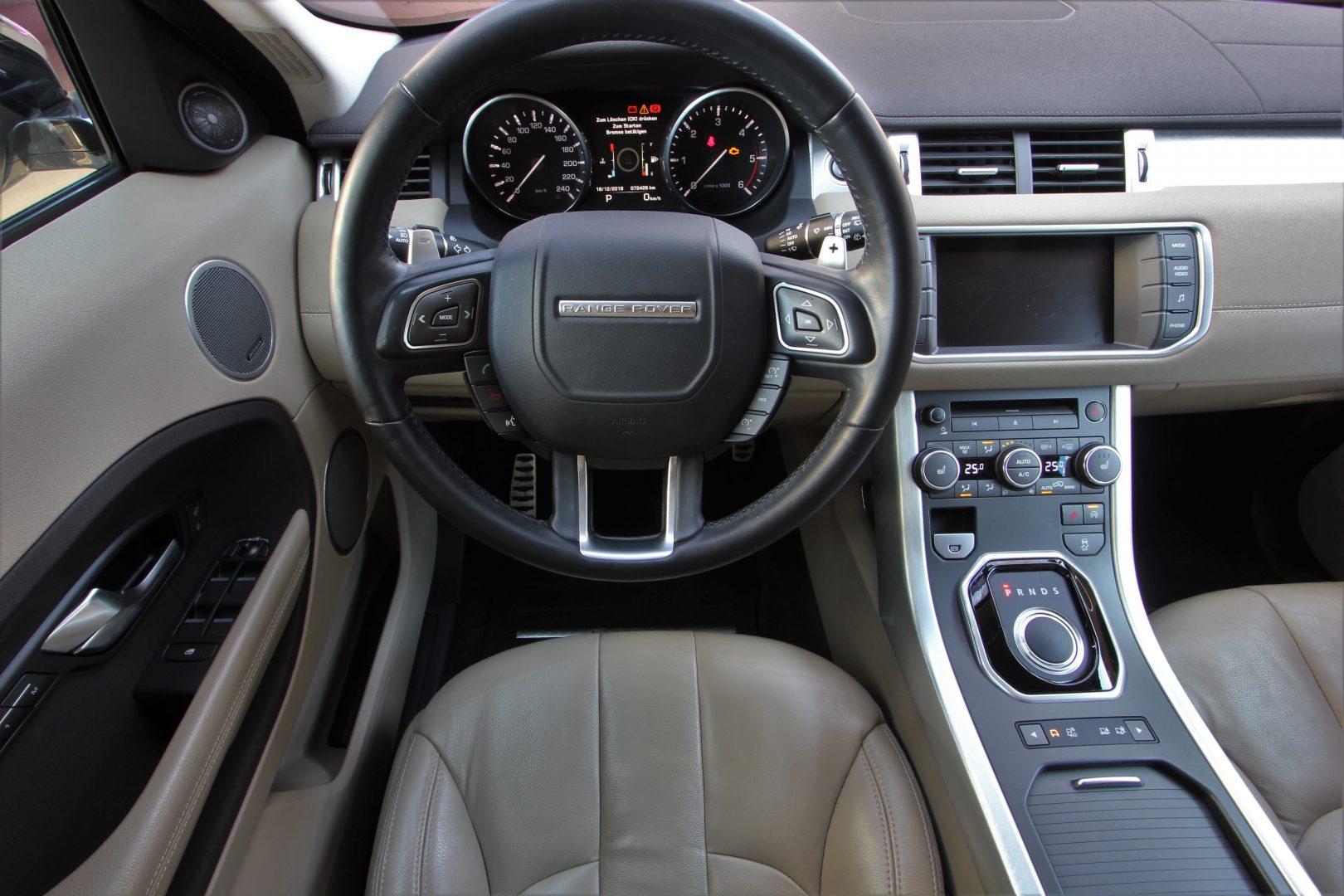 AIL Land Rover Range Rover Evoque Pure 8