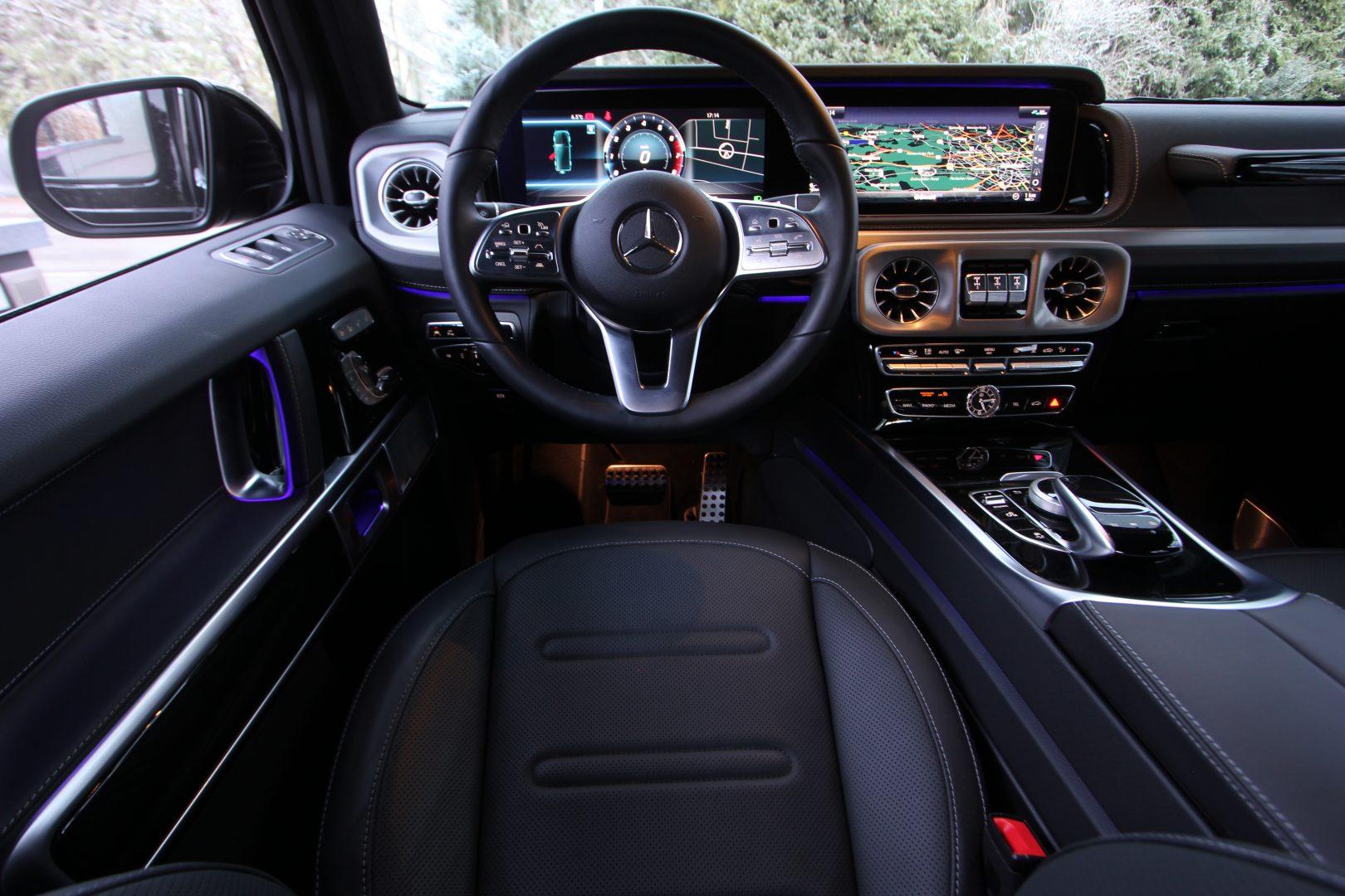 AIL Mercedes-Benz G 500 Burmester LED  13