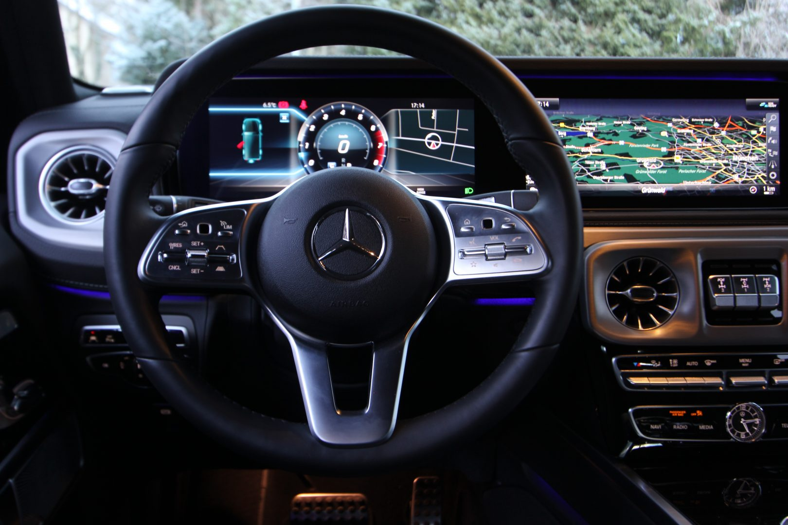 AIL Mercedes-Benz G 500 Burmester LED  9