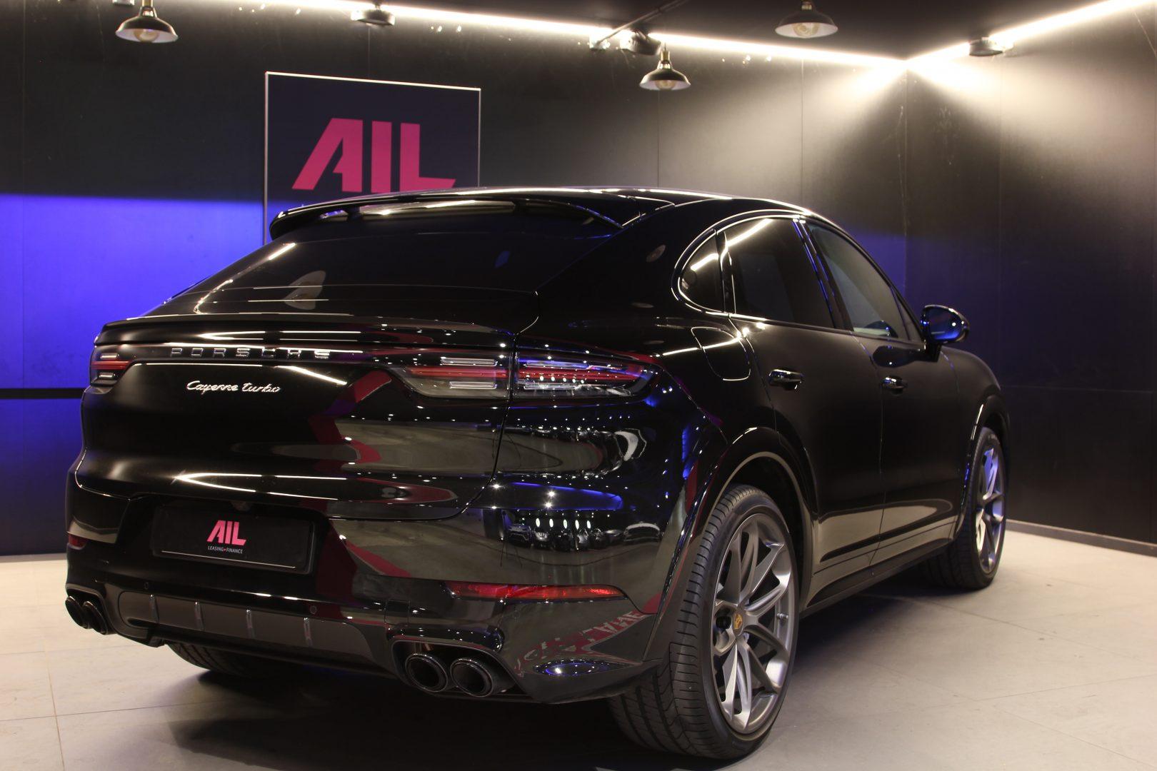 AIL Porsche Cayenne Turbo Coupe LED Matrix  Carbon 1