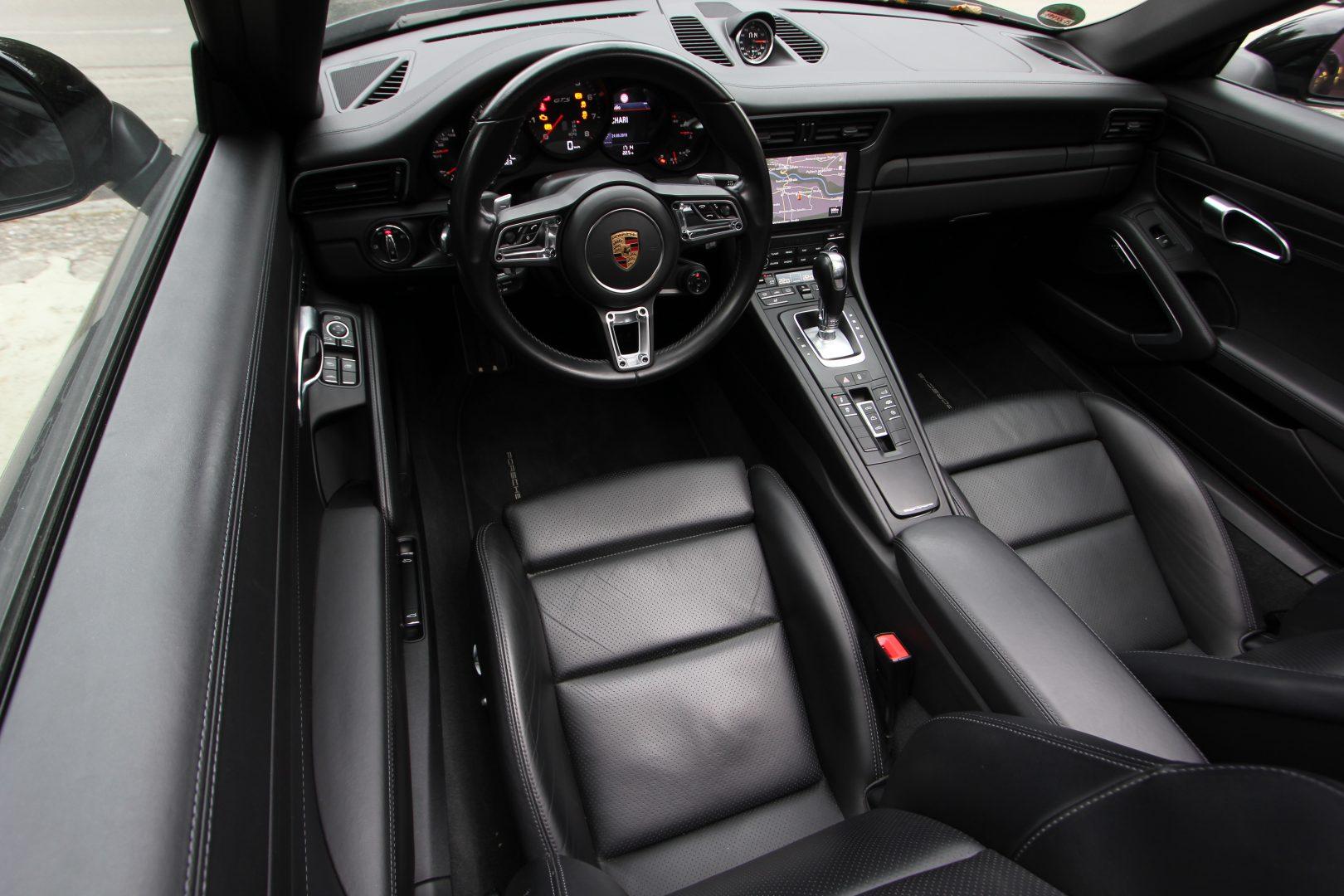 AIL Porsche 991 4 GTS Cabriolet LED Burmester High-End 3