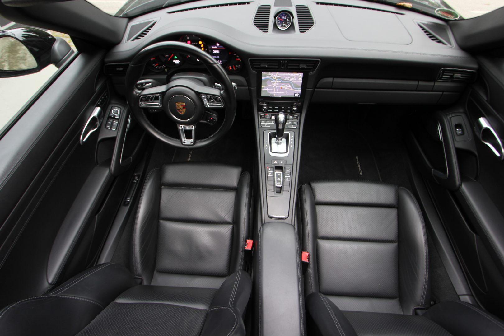 AIL Porsche 991 4 GTS Cabriolet LED Burmester High-End 10