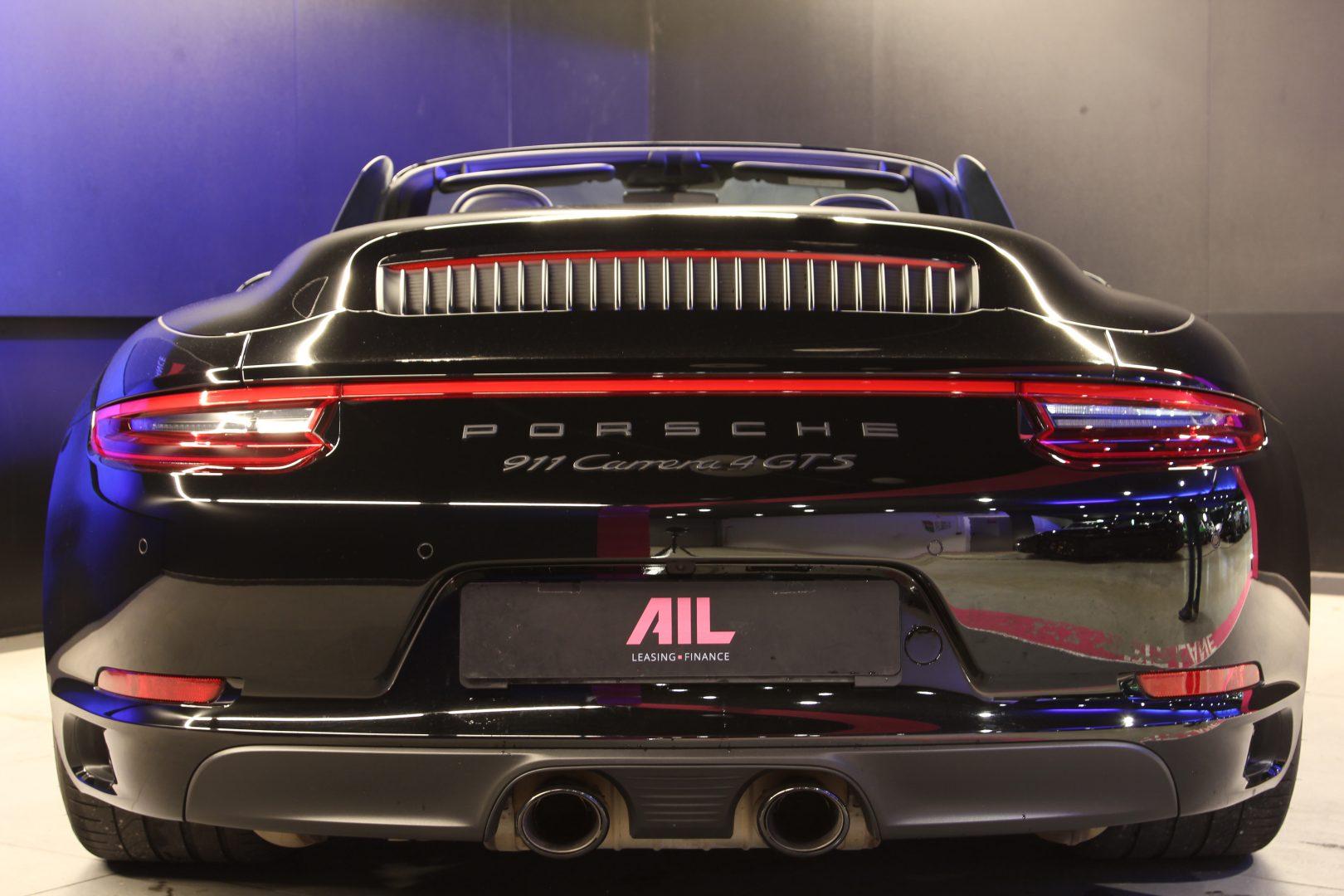 AIL Porsche 991 4 GTS Cabriolet LED Burmester High-End 12